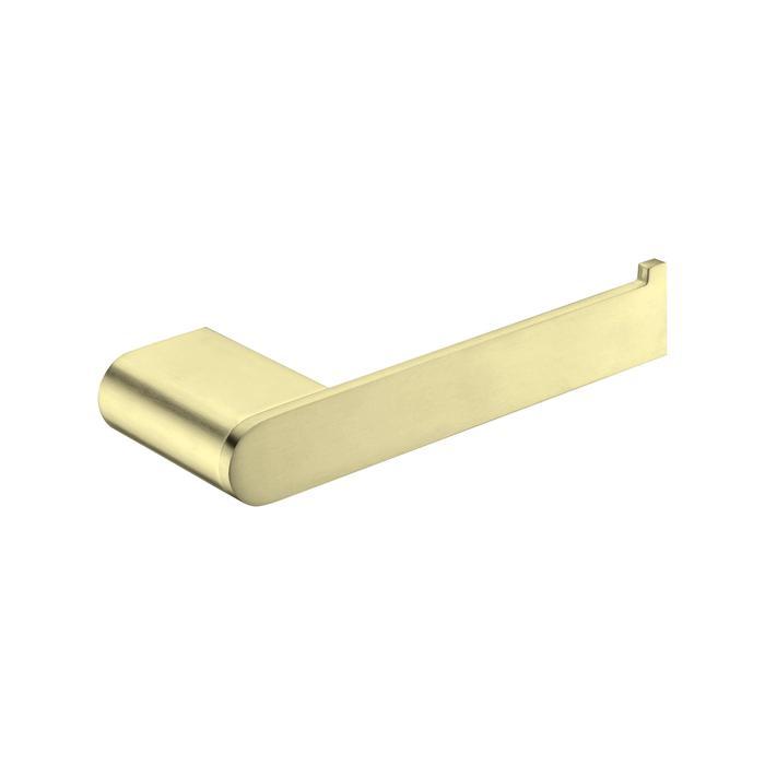 NERO VITRA TOILET ROLL HOLDER BRUSHED GOLD