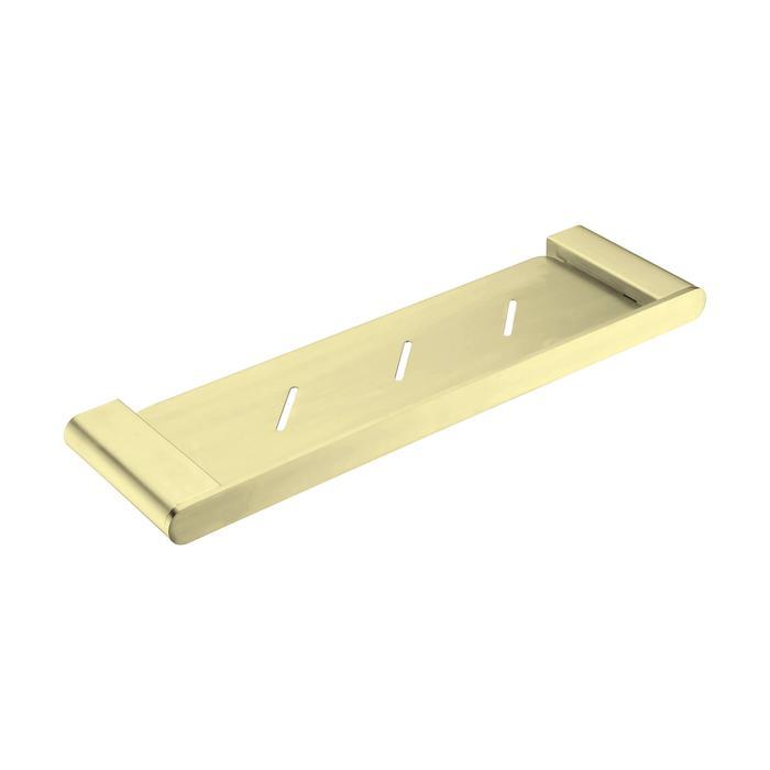 NERO VITRA METAL SHELF BRUSHED GOLD