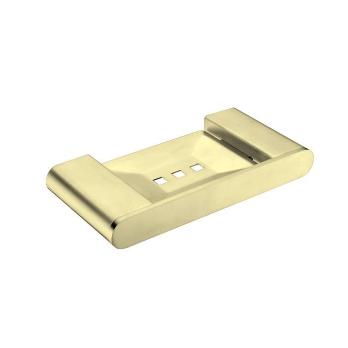 NERO VITRA SOAP DISH HOLDER BRUSHED GOLD