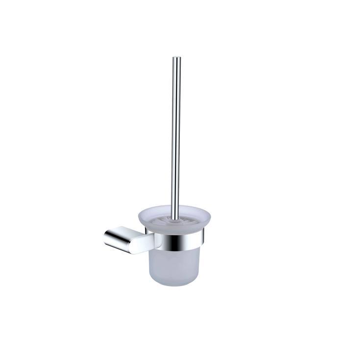 NERO VITRA TOILET BRUSH HOLDER CHROME Product Image 1