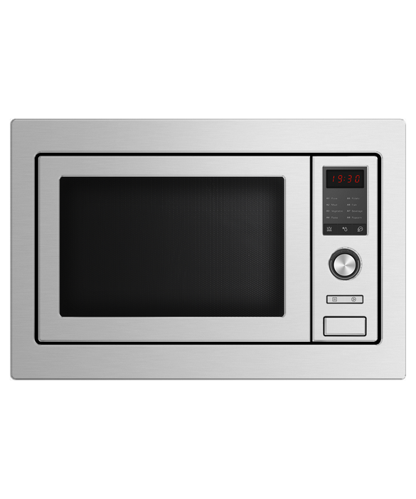 Fisher & Paykel Stainless Steel Built-in Microwave