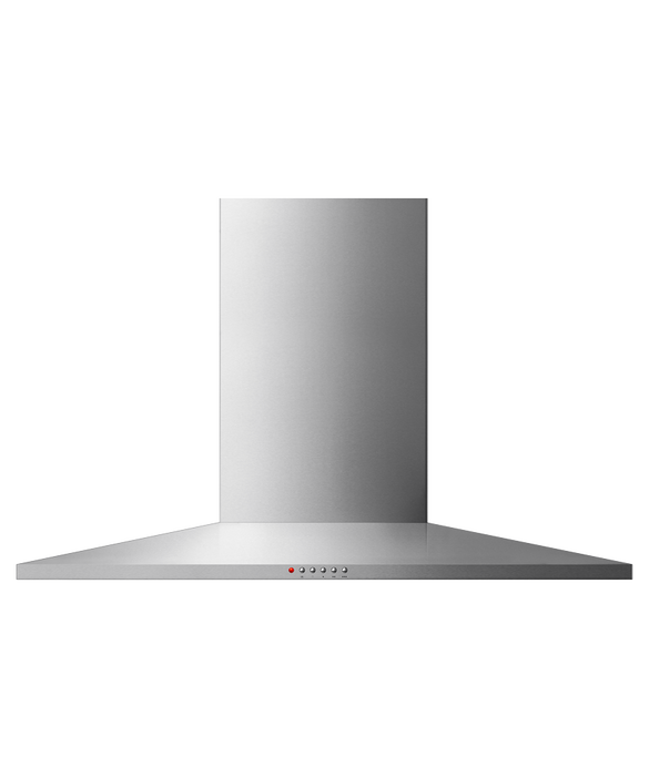 Fisher & Paykel 90cm, Wall Canopy, Pyramid Chimney
