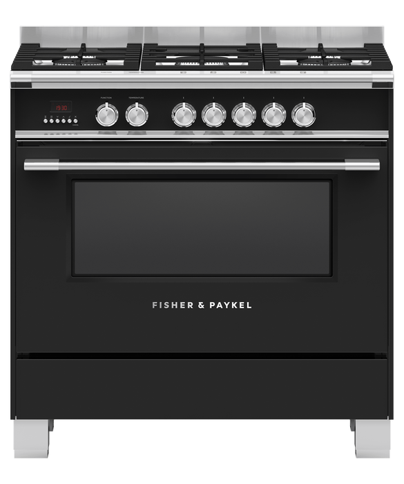 Fisher & Paykel 90cm Dual Fuel Freestanding Cooker Product Image 1