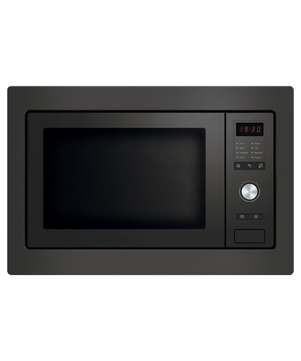 Fisher & Paykel Black Built-in Microwave