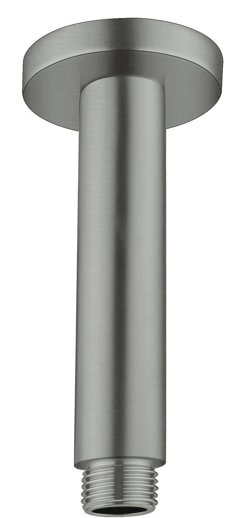 NERO VITRA ROUND CEILING ARM GUN METAL GREY