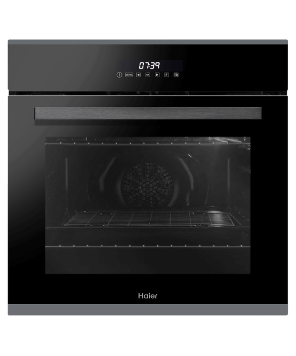 Haier Oven, 60cm, 10 Function, Self-cleaning with Rotisserie Product Image 1