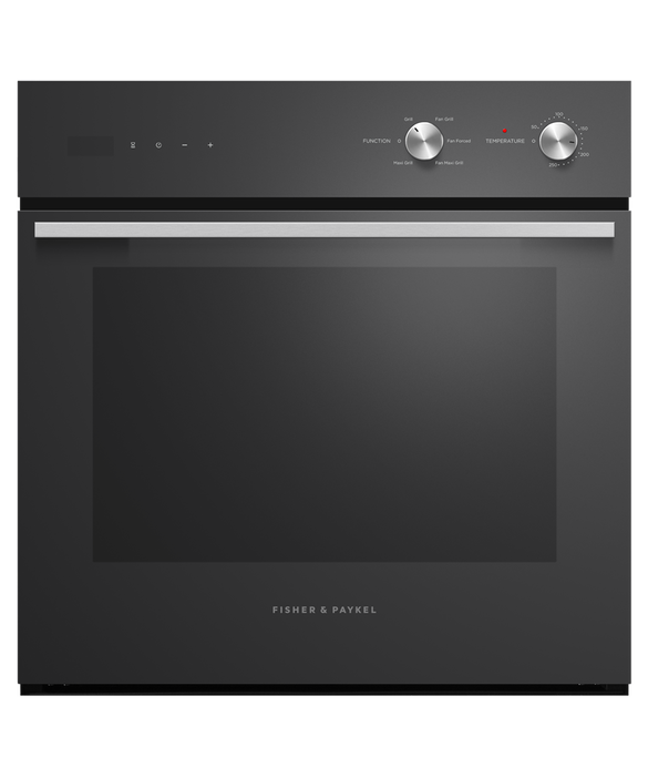 Fisher & Paykel Black Oven, 60cm, 5 Function