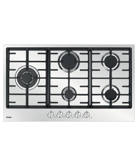 Haier Gas on Steel Cooktop, 90cm Product Image 1