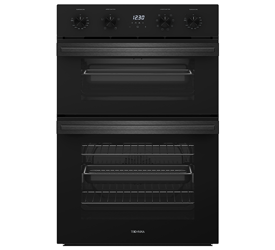 Technika 60cm 8+4 Function Double Oven (Dark Stainless Steel) Product Image 1